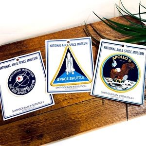 National Air & Space Museum Project Apollo Patches